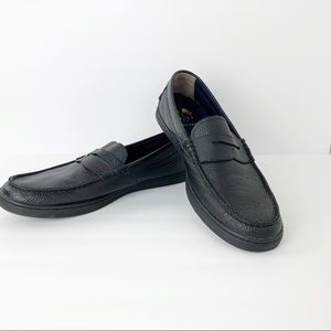 Cole Haan Black Leather Loafers Grand.OS sz 12